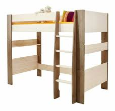 White High Sleeper Bed Frame White Wash Mdf High Sleeper Bed Frame Bed With Play Space