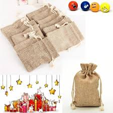 gift bags for weddings wholesale christmas party burlap jute sacks vintage weddings with