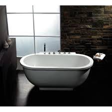 Free Standing Bathtub Amazing Freestanding Bathtub With Jets Atlantis Whirlpools Embrace