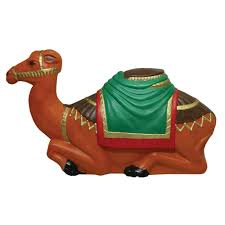 general foam 16 in nativity collection camel statue hd c3780