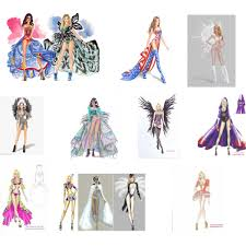 fashion sketches for a preview of how lovely the designs can be
