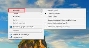 afficher les icones du bureau comment masquer et afficher les icônes du bureau sur windows 10