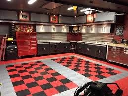why truelock hd garage floor tiles dan s black and red checkered tile garage floor