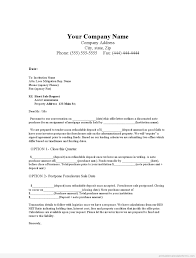 Closing Of Business Letter by Sample Printable Note Purchase Offer In Leiu Of Short Sale Form