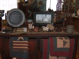 Primitive Dining Room by Primitive Decor Rooms Primitive Christmas Decorating Ideas