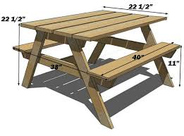 Interesting Octagon Picnic Tables Plans And 7 Best Home by Ana White Build A Preschool Picnic Table Free And Easy Diy