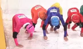 a game show u0027s u0027slippery stairs u0027 contest is the sport we need to