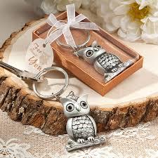 keychain wedding favors keychain favors owl design key chain favor
