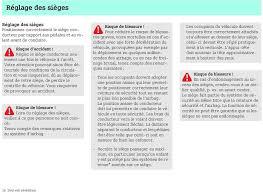 siege enfant v o notice d utilisation smart forfour pdf