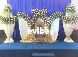 Wedding Stage Decoration Best Wedding Reception Engagement Stage Flower Decorators