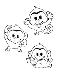 printable coloring pages monkeys printable monkey coloring pages monkey coloring pages new year craft