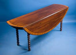 Cherry Drop Leaf Table English Cherry Dropleaf Barleytwist Table For Sale Antiques Com