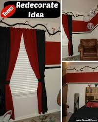 black and red curtains for bedroom red black and white bedroom google image result for http img2 etsystatic com 000 0 6194377