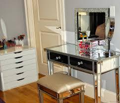 Pier One Mirrored Nightstand Design Mesmerizing Awesome Mirror Hayworth Dresser Silver Decor