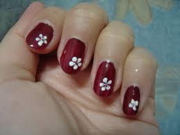 simple nail art flowersnailnailsart how to make nail design