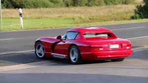 Dodge Viper 1994 - oldskool american supercar dodge viper rt 10 roadster startup and