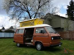vw camper van for sale vw westfalia rv pop top camper van only 40k miles