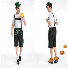 new arrival oktoberfest costume men lederhosen bavarian