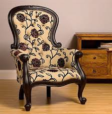 Queen Anne Armchair Grandfather Victorian Queen Anne Chair Upholstered By Feather U0026 Weave