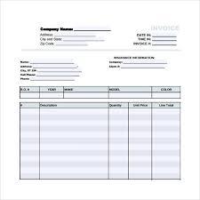 auto body repair estimate forms download service and repair
