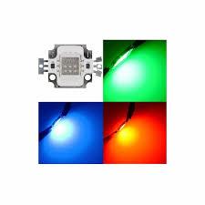Green Flood Light 10w Rgb Led High Power Chip Red Green Blue 12v 10 Watt Lamp