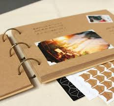photo albums for couples kraft paper diy manual photo albums south korean creative couples