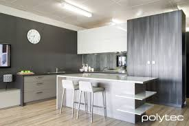 Kitchen Design Manchester Polytec Char Oak Ravine And Drifted Oak Ravine Modern Kitchen