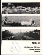 cope class online cope middle school aerie yearbook redlands ca class of 1971