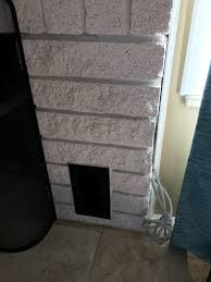 fireplace best way to close gap around a fire place home