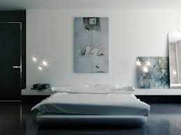 Minimalist Bed Interior Design Minimalist Bedroom With Low Platform Bed And