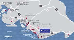 Honolulu Airport Map Contact Hilton Garden Inn Waikiki Beach