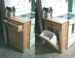 trash cans for kitchen cabinets garbage cans for kitchen kitchen cabinet with trash bin tilt out