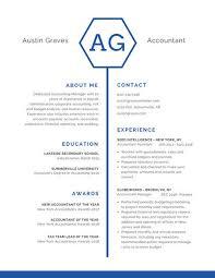 professional resume templates canva
