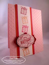 23 best best of birthday u0027s stampin u0027 up cards images on pinterest