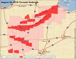 Map Of Northeast Ohio by This Is How The U0027surprise U0027 Indiana And Ohio Tornado Outbreak Of