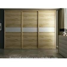 3 Door Closet Sliding Door Wardrobe China Bedroom Simple 3 Door Wardrobe Sliding