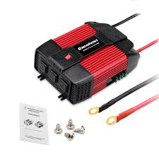 1000w 2000watt car truck power inverter 12v dc to 110 volt ac