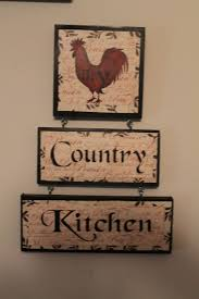 rooster decor country kitchen sign kitchen decor home
