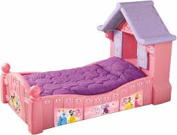 girls toddler bed with canopy charming purple mattress over pink princess bed for inspiring