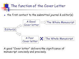 manuscript cover letter successful covering letters for academic