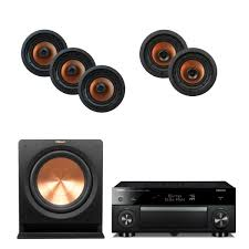 klipsch home theater speakers 5 1 home theater package deals audiogurus store
