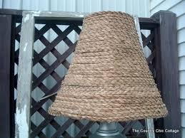 Design For Wicker Lamp Shades Ideas 22 Diy Lampshade Makeovers C R A F T