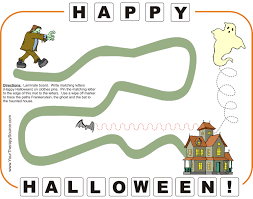 halloween mat your therapy source