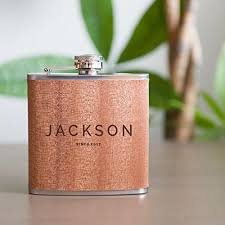 wooden flasks personalized flask real wood groomsmen flasks gift