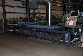 used plasma cutting table new used sheet metal fabricating machinery parts supplies
