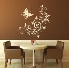 decorating three flying duck wall art stickers and red seat decorating beautiful floral butterfly design wall art stickers wall art quotes stickers