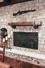 gun hooks mantle brackets u0026 firescreen guest loft pinterest
