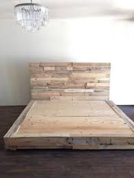 How To Make Wood Platform Bed Frame by Best 25 Wood Platform Bed Ideas On Pinterest Platform Beds