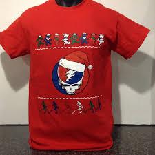 grateful dead christmas t shirt new