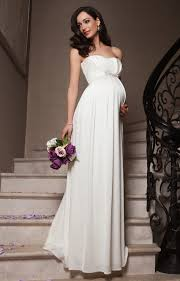 wedding dresses maternity annabella maternity wedding gown ivory maternity wedding